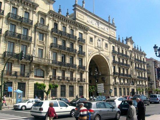 Edificio del Banco Santander
