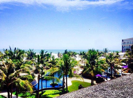 W Bali - Seminyak: View from our Room (Spectacular Ocean Facing Retreat)