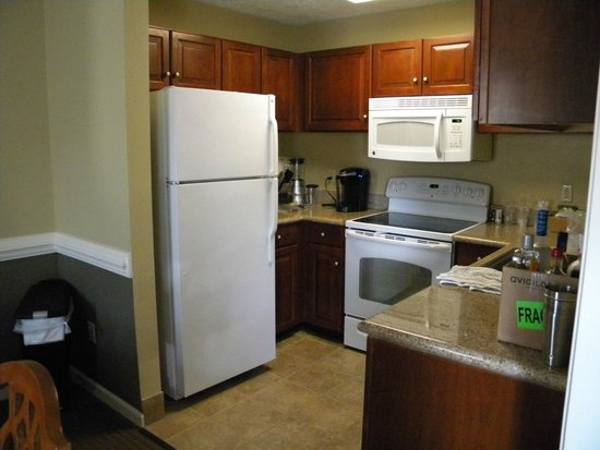 Wyndham Kingsgate: Fully equipped kitchen