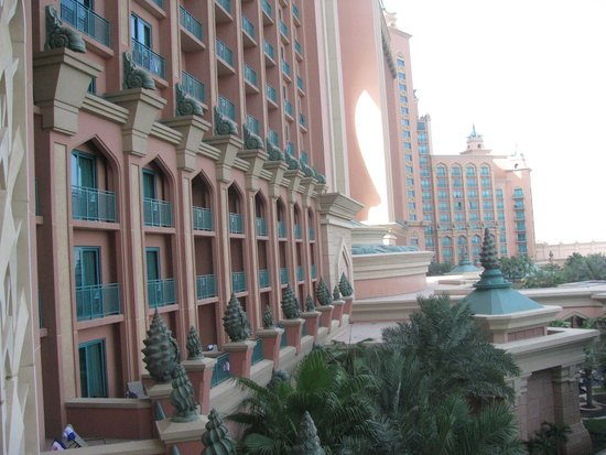 Atlantis, The Palm: view from my room
