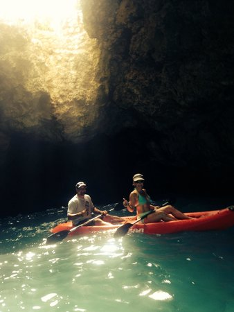 The Caves : Blue Hole Kayak