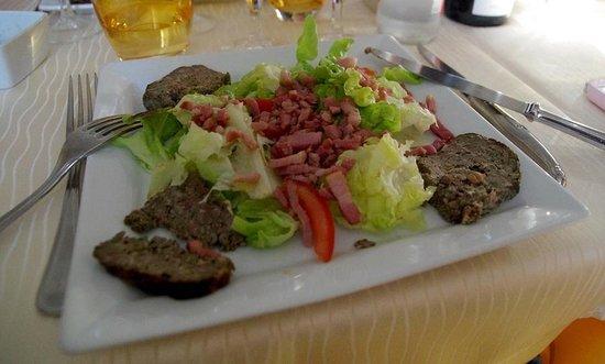Auberge Castel Mireio: The evening dinner