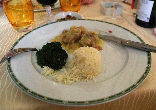 Auberge Castel Mireio : The evening dinner