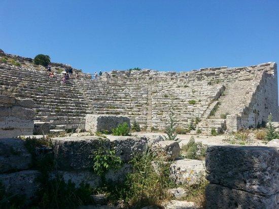 Tempio di Segesta (Tempio Influenza Greca): teatro