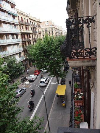 Uma Suites: 2nd floor view