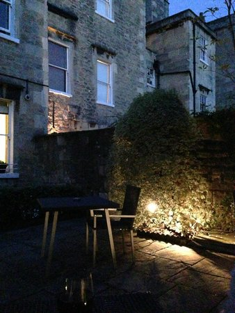 Queensberry Hotel : The garden