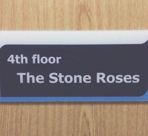 Travelodge Manchester Central Arena : Nice touch!