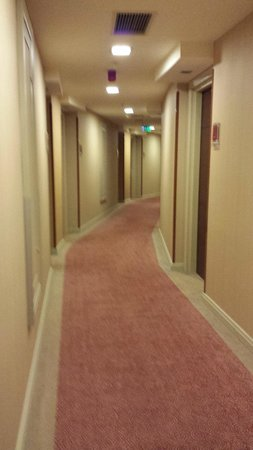 Courtyard by Marriott Istanbul International Airport : Corridor