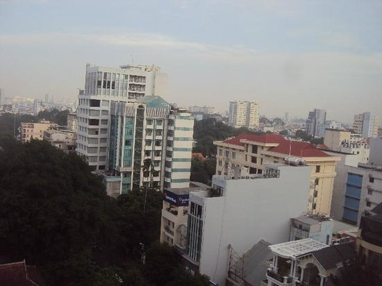 Novotel Saigon Centre Hotel : View from the room