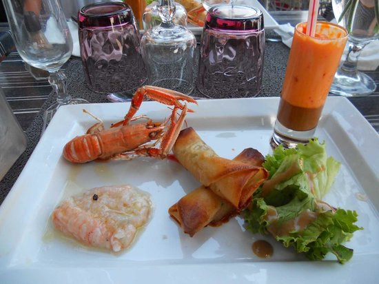 Red Sea : Trilogie de langoustines