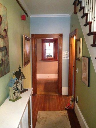 John Randall House: Front Hallway