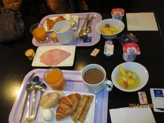 Timhotel Tour Eiffel : 朝食