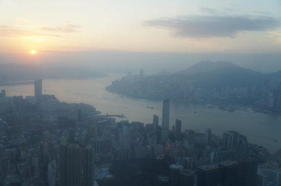 The Ritz-Carlton, Hong Kong: Sunrise from room