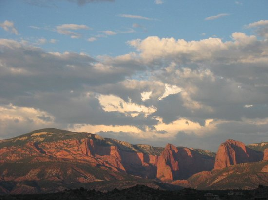 Kolob Canyons: Kolob from across the valley