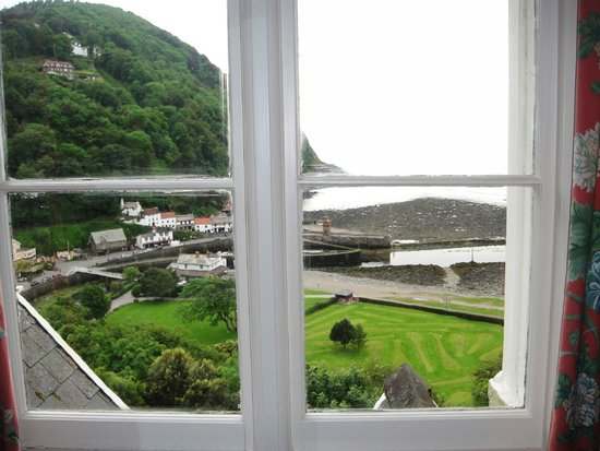 Tors Hotel: view from my room