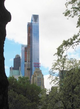 JW Marriott Essex House New York: View of hotel from Central Park