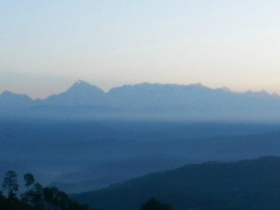 Suman Royal Resort : Himalaya view from room galary