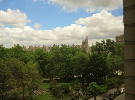 JW Marriott Essex House New York: View from room of Central Park