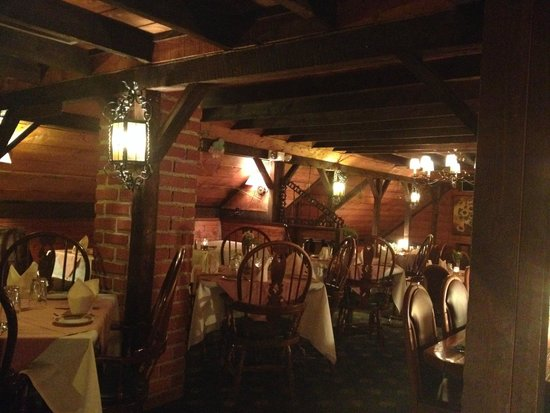 The Bavarian Chef : Upstairs dining area