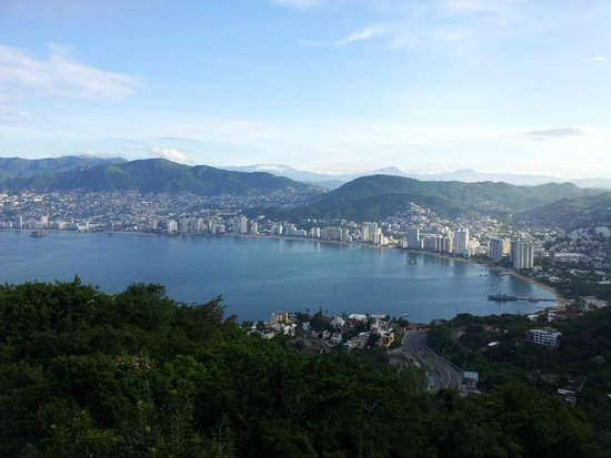 Las Brisas Acapulco: view from the restaurant