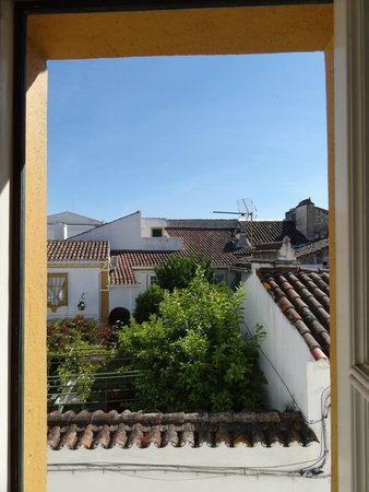 Albergaria do Calvario: Room 16 window from bathroom