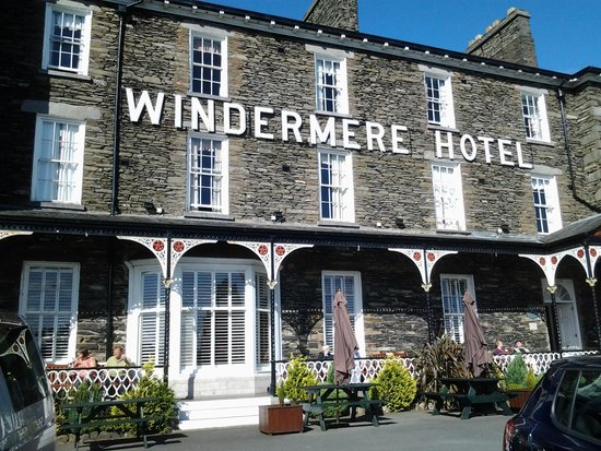 The Windermere Hotel : Front of the hotel