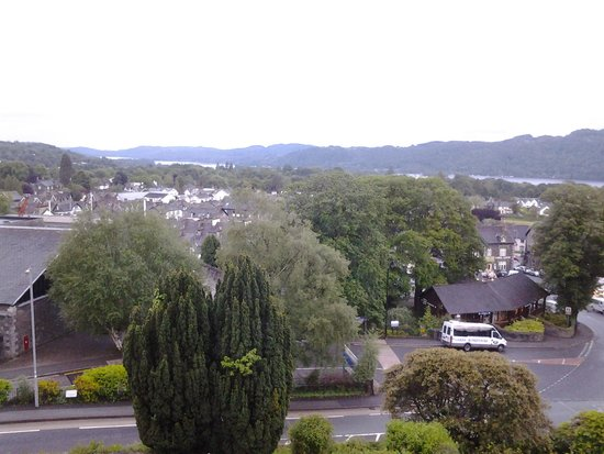 The Windermere Hotel : View from room 212 with lake in background