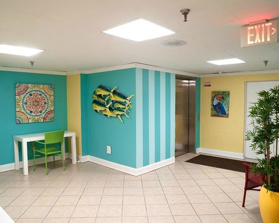 Cayman Suites: 2nd floor Lobby