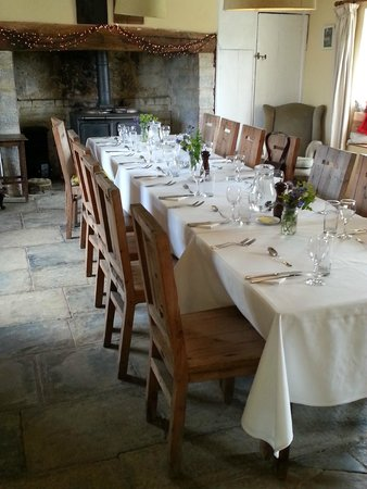 River Cottage Dining Room In The Old Farmhouse