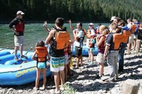 Sands Whitewater and Scenic River Trips - Day Trips: Group lessons before getting in the water