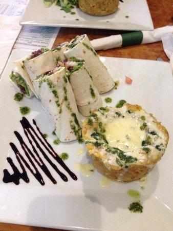 Punto de Vista Restaurant & Bar: Churrasco con mofongo