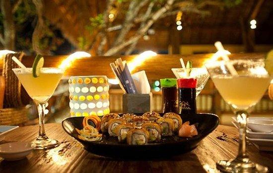 Cena Romantica en el Sushi de Holbox