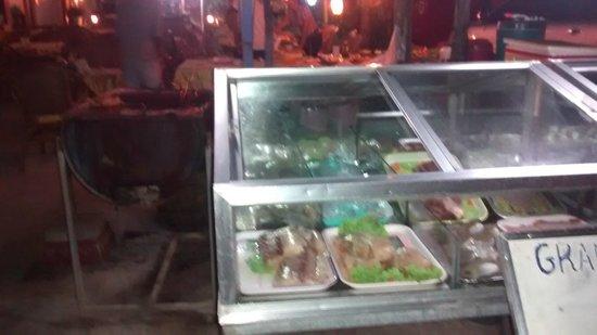 Grand Restaurant Kampuchea Restaurant: fresh ingredients!