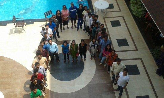 Resort De Coracao: AadAir Group at Resort De Coracoa - Goa