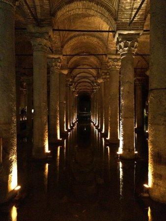 Basilica Cistern: Stunning passageways