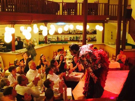 El Tablao de Carmen : Grateful public