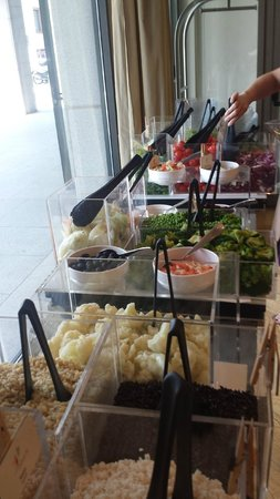 Starhotels Rosa Grand: Salad Bar