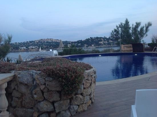 SENTIDO Punta del Mar: view over the pool overlooking the bay