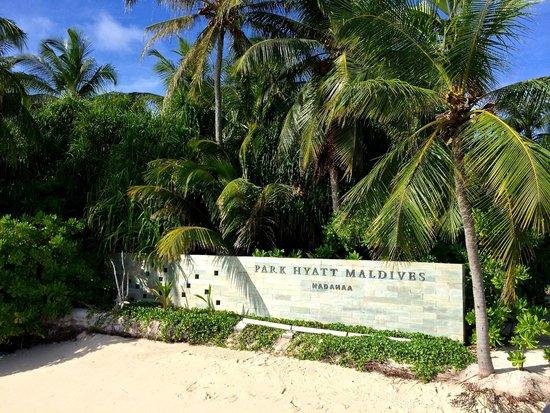 Park Hyatt Maldives Hadahaa: love Park Hyatt!