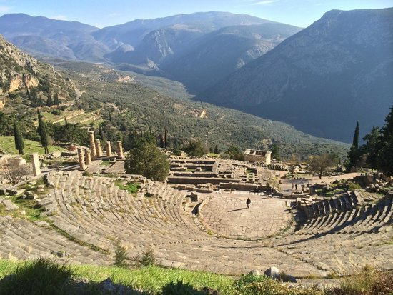 Temple of Apollo: Oracle of Delphi