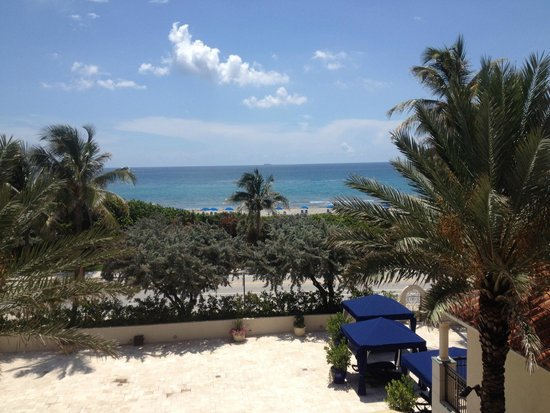 Delray Beach Marriott : Ocean View from room