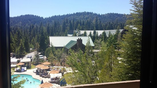 Tenaya Lodge at Yosemite : View from the 4th floor
