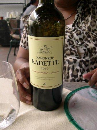 Hotel Heiligenstein : Fine wines from the Cape