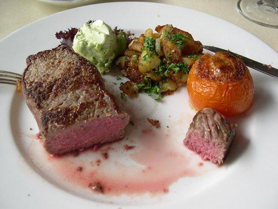 Hotel Heiligenstein : Fillet of Beef