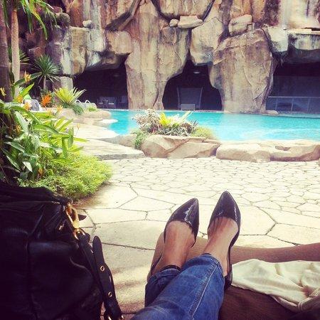 Sunway Pyramid Hotel East & West : swimming pool@sunway resort & spa