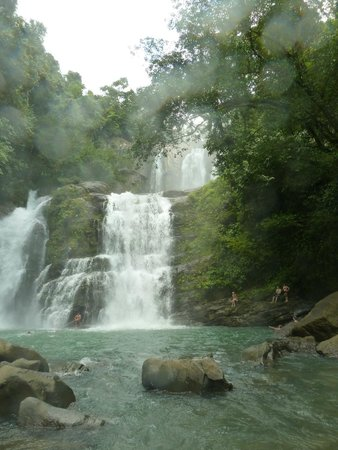 Nauyaca Waterfalls - Horseback Riding Tours: The falls