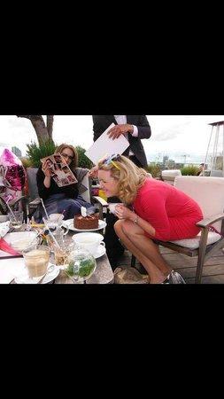 The Boundary Restaurant: Happy birthday