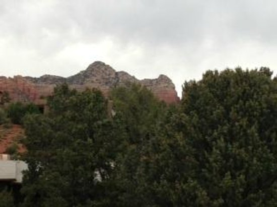 Sedona Rouge Hotel and Spa: View from our balcony