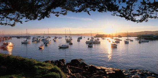 Portola Hotel & Spa at Monterey Bay: Beautiful Monterey Bay Sunset
