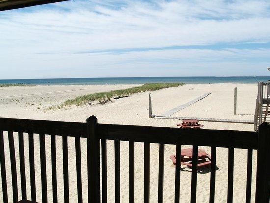 Blue Sea Motor Inn: Vue de notre chambre